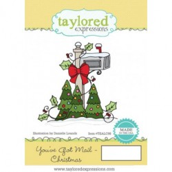 (TEALC98)Taylored Expressions You've Got Mail Christmas