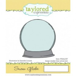 (TEALC97)Taylored Expressions Snow Globe