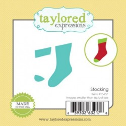 (TE437)Taylored Expressions Little Bits Stocking