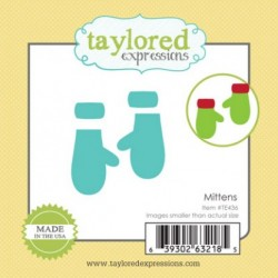 (TE436)Taylored Expressions Little Bits Mittens