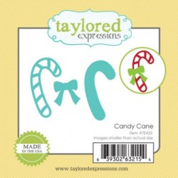 (TE435)Taylored Expressions Little Bits Candy Cane