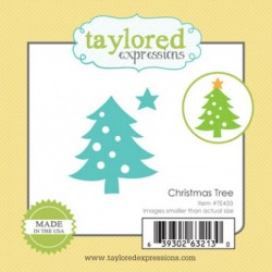 (TE433)Taylored Expressions Little Bits Christmas Tree