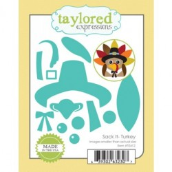 (TE412)Taylored Expressions Sack It Turkey