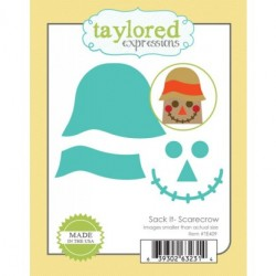 (TE409)Taylored Expressions Sack It Scarecrow