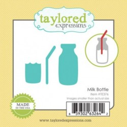 (TE376)Taylored Expressions Little Bits Milk Bottle