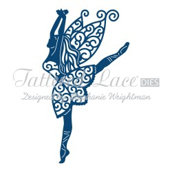 (ACD607)Tattered Lace Graceful Fairy