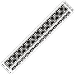 Siesta grids Ruler SPB011LR (42*250 MM)