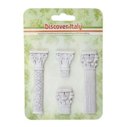 (SCB26002104)ScrapBerry's Polymer Items Discover Italy Columns