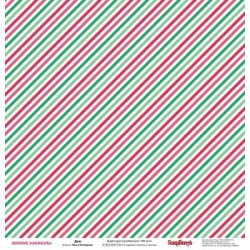 (SCB220605504b)ScrapBerry's Double-sided paper Happy Holiday Win