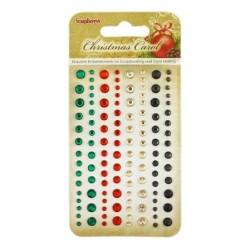 (SCB25002037)ScrapBerry's Adhesive Gems Christmas Carol