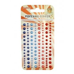 (SCB25002031)ScrapBerry's Adhesive Pearls Vintage Circus 1