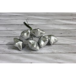(HY0010013748)ScrapBerry's Stars In The Bundle, Silver, 6 pcs