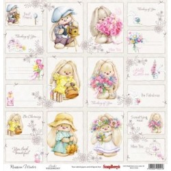 (SCB220605109b)ScrapBerry's Double-sided paper Fluffyme Summer