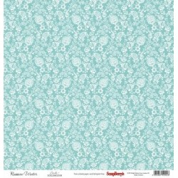 (SCB220605104)ScrapBerry's Double-sided paper Fluffyme Summer