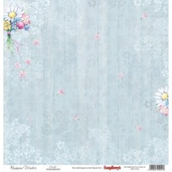 (SCB220605102)ScrapBerry's Double-sided paper Fluffyme Summer