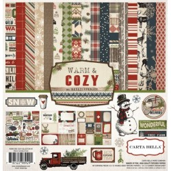(CBWC37016)Carta Bella Warm And Cozy 12x12 Inch Collection Kit