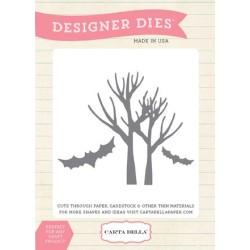 (CBMDie2)Carta Bella Spooky Trees Die Set