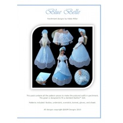 (PP032)Adele Miller: Blue Belle Patterns