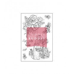 (CBS0021)Clear Stamps - Rose Garden