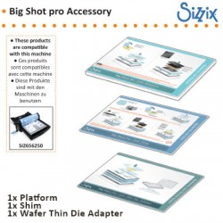 (657435)Sizzix big shot pro accessory solo platform adapter