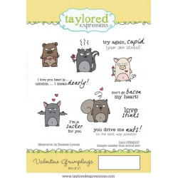 (TEMD37)Taylored Expressions Valentine Grumplings