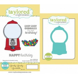 (TEPS149)Taylored Expressions Goody Goody Gumballs Stamp & Die C