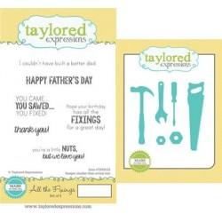 (TEPS122)Taylored Expressions All The Fixings Stamp & Die Combo