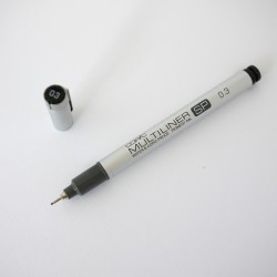 Copic marker multiliner SP 0.3mm black