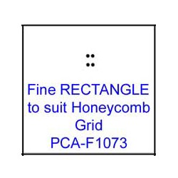 (PCA-F1073)Fine RECTANGLE to fit H/Comb grid