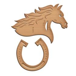 (IN-054)Spellbinders In'spire Die Lucky Horse