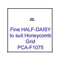 (PCA-F1075)Fine HALF-DAISY to fit H/Comb grid