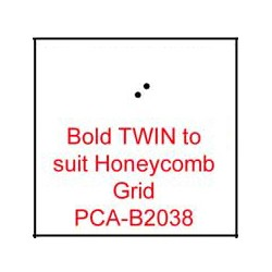 (PCA-B2038)Bold TWIN to fit H/Comb grid