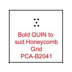 (PCA-B2041)Bold QUIN to fit H/Comb grid