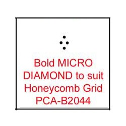 (PCA-B2044)Bold MICRO DIAMOND to fit H/C grid