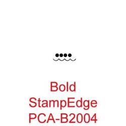 (PCA-B2004)Bold StampEdge