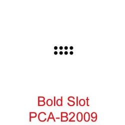 (PCA-B2009)Bold Slot