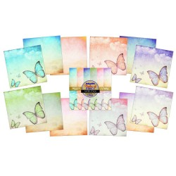 "(IND0162)IndigoBlu Flights Of Fancy 6x6"" (24 S 190grs)"