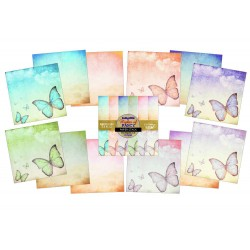 "(IND0167)IndigoBlu Flights Of Fancy 12x12"" (12 S 190grs)"