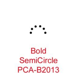 (PCA-B2013)Bold SemiCircle