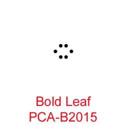 (PCA-B2015)Bold Leaf