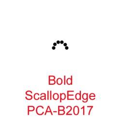 (PCA-B2017)Bold ScallopEdge