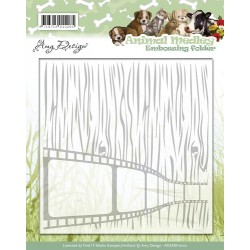 (ADEMB10001)Embossing Folder - Amy Design - Animal Medley