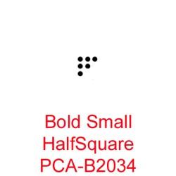 (PCA-B2034)Bold Small Half Square