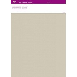 (63022)Translucent Paper Ivory A4 150 gsm 5 Sheets