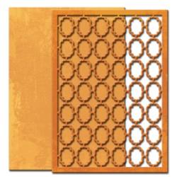 (S6-022)Spellbinders Shapeabilities Grate Effect