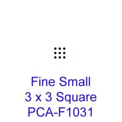 (PCA-F1031)Fine Small 3 x 3 Square