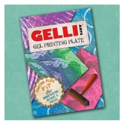 (WHCase)Gelli Printing Plate 12.7x17.78cm