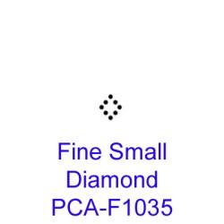 (PCA-F1035)Fine Small Diamond