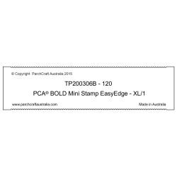 (TP200306B)BOLD - Mini Stamp EasyEdge - XL/1