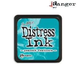 (TDP40064)distress mini ink peacock feathers